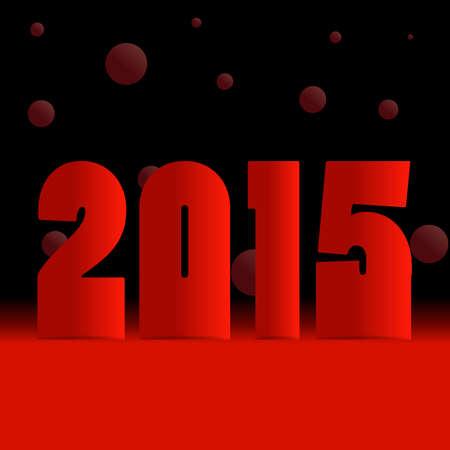 web 2 0: 2015 happy new year background