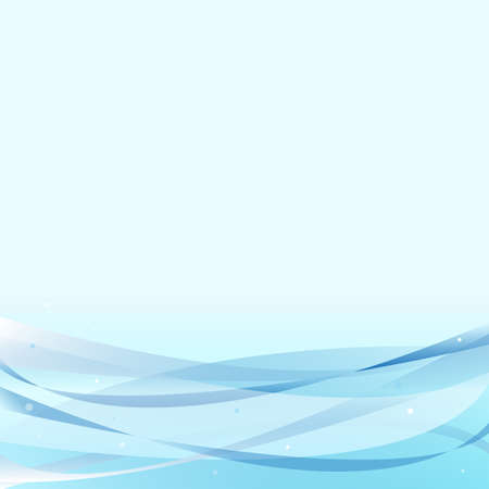 abstract wave line vector background Illustration