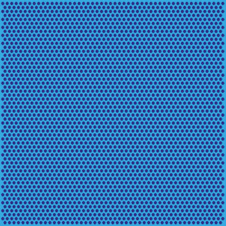 spatial: vector graphic texture with small hexagon blue style
