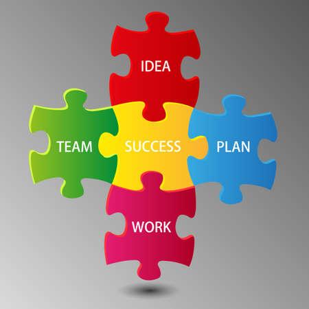 teamwork idea of success