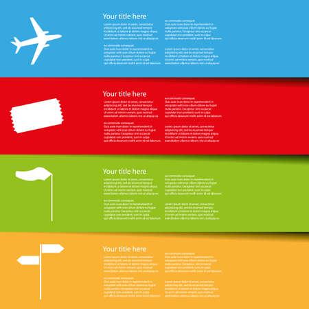 airport navigation infographic Illustration