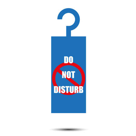 to disturb: do not disturb tag