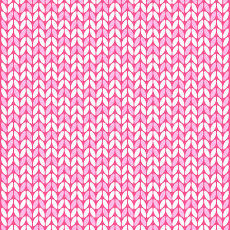 wool texture: vector pink and white wool texture