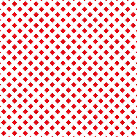 Red small squares on white background Vector graphic