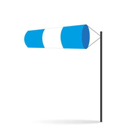 wind sock vector