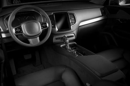 Intérieur d'une automobile moderne montrant le tableau de bord Banque d'images - 45658687