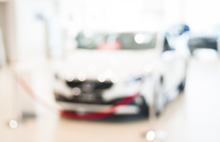 show room: Abstract blurred photo of motor showroom, car show room, blur color