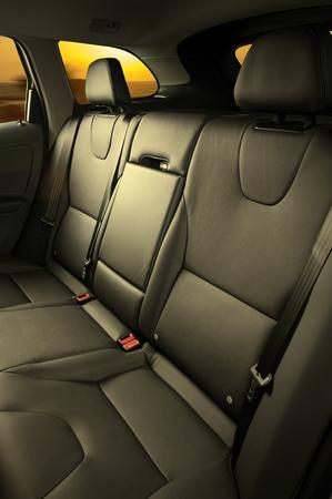 the seat: realizar copia de seguridad asientos de pasajeros en auto cómodo de lujo moderno  Foto de archivo