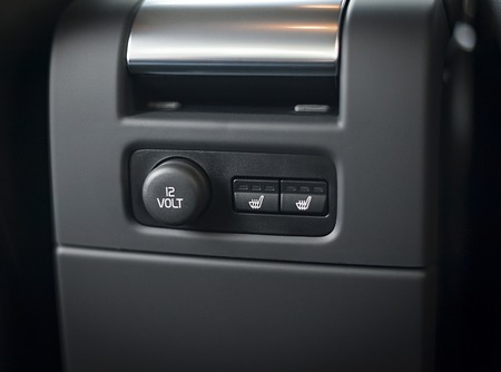 12V power outlet socket in a car