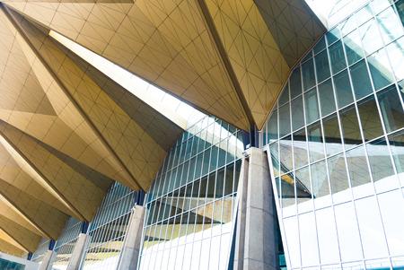 Modern Architectural Skylight Structure from Indoor a Building Redakční