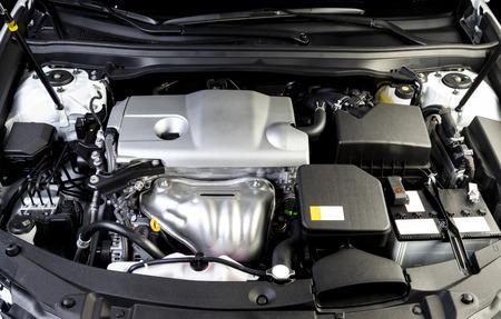Der Automotor, Motor, Hintergrund des Automotors Standard-Bild
