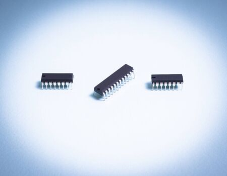 digital electronic components, integrated circuits, microcontrollers
