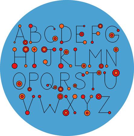 set symbols: alphabet slim
