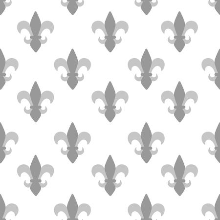 fleurdelis: Seamles pattern mardi Gras ornament fleur