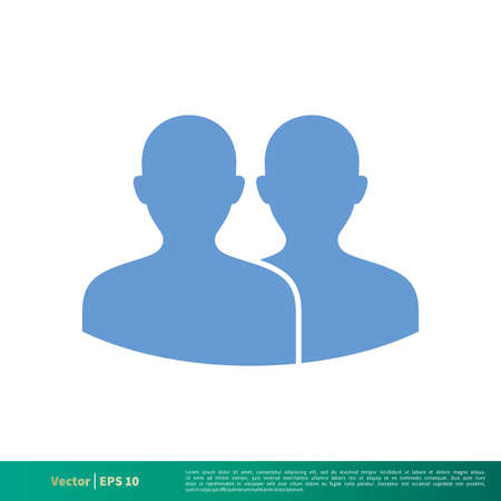 Social Network Profile Icon Vector Logo Template Royalty Free ...