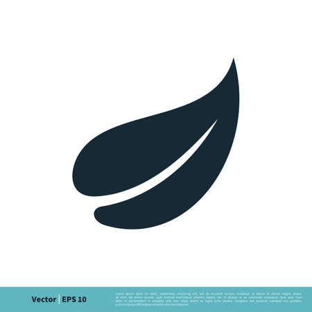 Plant Ornamental Icon Vector Logo Template Illustration Design.