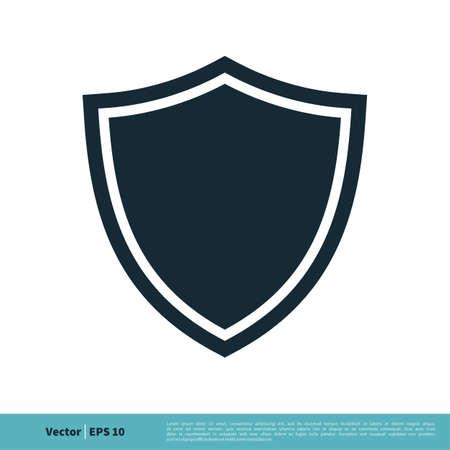 Shield Secure Icon Vector Logo Template Illustration Design. Vector EPS 10.