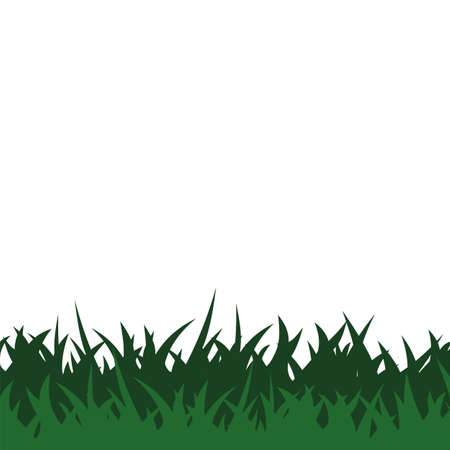 Green Grass Background Vector Template Illustration Design. Vector EPS 10. Vectores