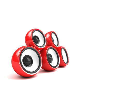 red audio system