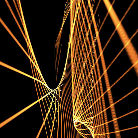 meshy: abstract orange meshy background