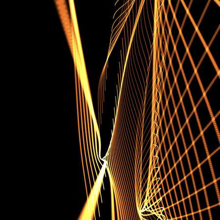 meshy: orange meshy background Stock Photo