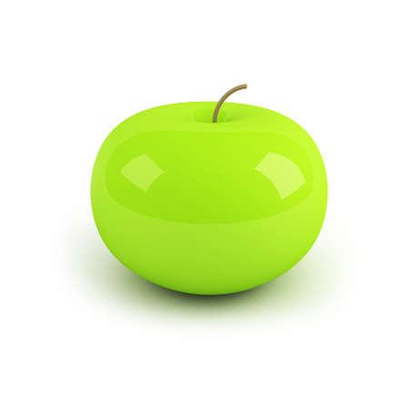factitious: 3d apple