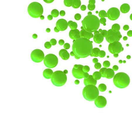 geen: geen spheres abstract background