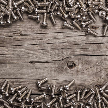 gudgeon: new bolts on the wooden table