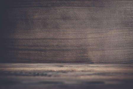 decoracion mesas: photo of dark brown wooden background texture Foto de archivo