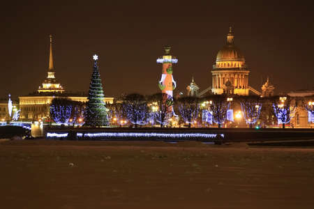 St  Petersburg, Streka Vasilevsky Island Stock Photo - 14631541