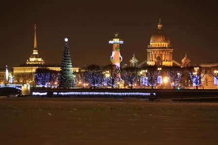 St  Petersburg, Streka Vasilevsky Island Stock Photo - 14631541