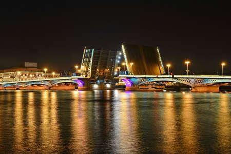 annunciation: Saint Petersburg, Annunciation bridge Stock Photo