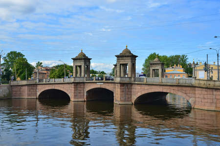 saint petersburg: Saint Petersburg, the Old Kalinkin Bridge