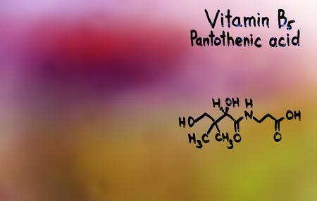ulceras: f�rmula vitaminas vitamina B5