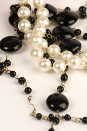 Pearls and Beads Stock Photo
