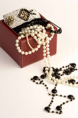 Jewellery Box with necklace. Stock Photo - 690720