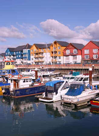The Marina at Exmouth, Devon. Stock Photo - 701954