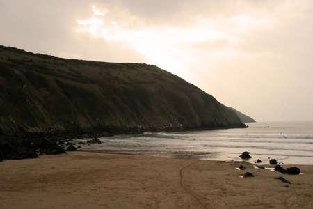 devon: Croyde Bay in Devon, England.