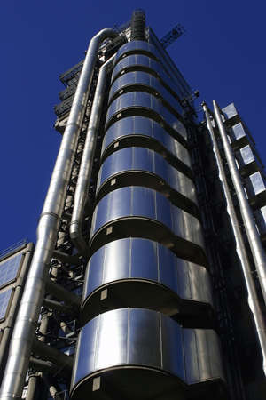 The Lloyds of London Tower.