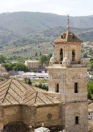 Church at Caravaca de la cruz, Spain.