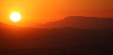 sunset in Murcia, spain. Stock Photo - 702103
