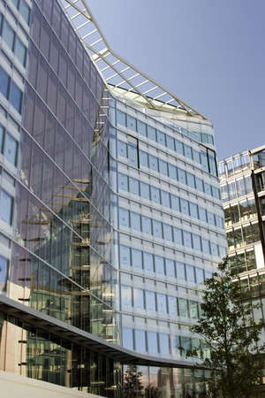 An Office Building of London, United Kingdom. Stock Photo - 712478