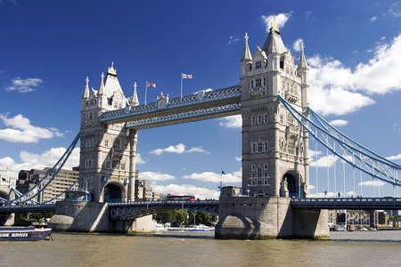 A view of Tower Bridge, London, U.K Stock Photo