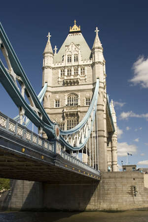 A view of Tower Bridge, London, U.K Stock Photo