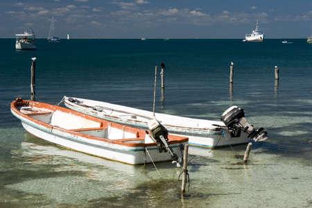mujeres: A coastal scene from Isla Mujeres, Mexico