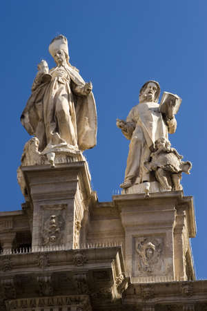 Santa Mar�a Cathedral of the Diocese of Cartagena in Murcia, Spain. Stock Photo - 926410