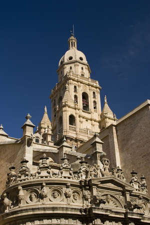 Santa Mar�a Cathedral of the Diocese of Cartagena in Murcia, Spain. Stock Photo - 926417