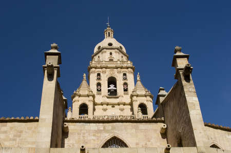 Santa Mar�a Cathedral of the Diocese of Cartagena in Murcia, Spain. Stock Photo - 929557
