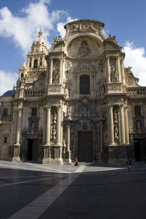 Santa Mar�a Cathedral of the Diocese of Cartagena in Murcia, Spain. Stock Photo - 932291