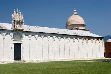 camposanto: Camposanto in Cathedral Square at Pisa in Italy